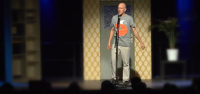 Ansgar Hufnagel / Bühnenpräsenz mit goodform clothes Shirt FOX FX