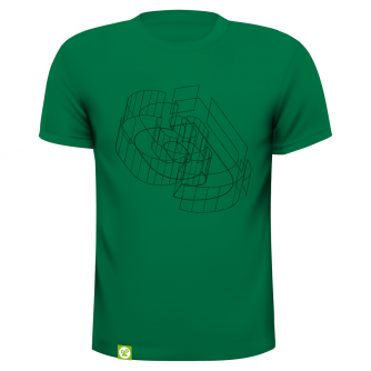 limited shirt 'green' from goodform clothes
