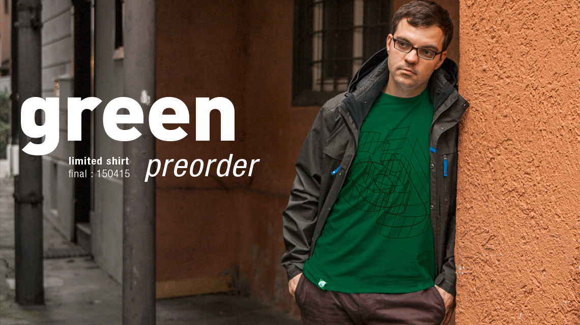 Limited Shirt: green